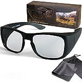 Schleiter & Jauernig SJ-UE - Gafas 3D pasivas para Personas con Gafas o sin Gafas (polarizadas circularmente, para RealD 3D Kino y TV, 200 g)