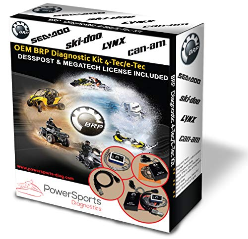 BRP BUDS/BUDS2 MPI-3 Diagnostic Scanner Megatech/Mechatronic Expert + 4TEC DESSPOST for CANAM Skidoo SEADOO Lynx