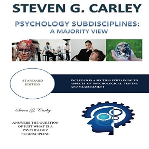 Psychology Subdisciplines audiobook cover art