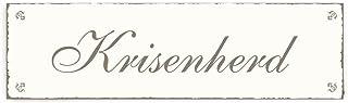 SCHILD Dekoschild « KRISENHERD » Shabby Vintage Holzschild