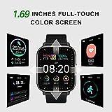 Zoom IMG-1 smartwatch orologio intelligente touchscreen intero