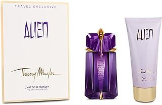 Thierry Mugler Alien Travel Exclusive - Perfume rellenable y loción corporal (60 ml y 100 ml)