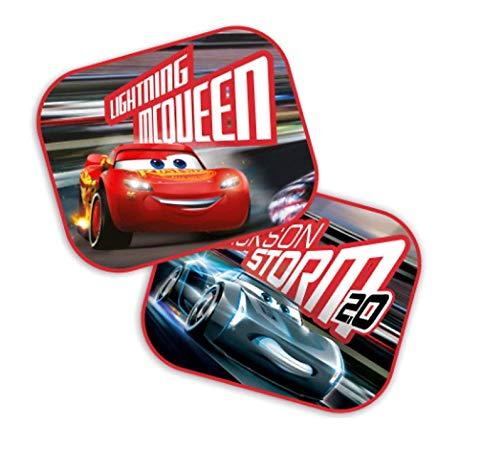 Theonoi 2 x Auto Sonnenschutz Vorhänge Seitenscheibe Sonnenblende wählbar: Mickey - Cars - Starwars Winnie/UV Schutz Geschenk Jungen - Cars