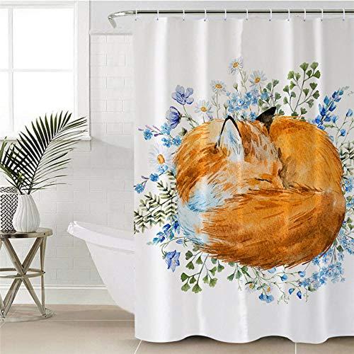 N / A Hochwertiger Badvorhang Print...