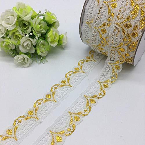 5 meter/stuk 30mm breed glitter geborduurd netto kant trim stof kledingstuk lint hoofdband bruiloft decoratie diy accessoire, 02