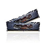 G.SKILL Flare X Series 16GB (2 x 8GB) 288-Pin DDR4 SDRAM DDR4 2400 (PC4 19200) AMD X370 / B350 / A320 Desktop Memory…