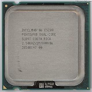 ntel Pentium E5200 2.5GHz 2MB Dual-Core Processor SLAY7 SLB9T
