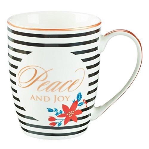 Mug – Paix et joie à rayures