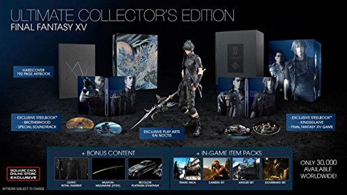 Final Fantasy 15 - Ultimate Collectors Edition XBOX ONE