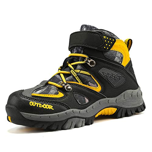 Kids Hiking Boots for Outdoor Sports, Climbing, Non-Slip