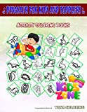 Dinosaur For Kids And Toddlers: Pachycephalosaurus, Graciliceratops, Pachycephalosaurus, Plateosaurus, Stegosaurus, Psittacosaurus, Styracosaurus, ... Words Activity And Coloring Book 55 Funny