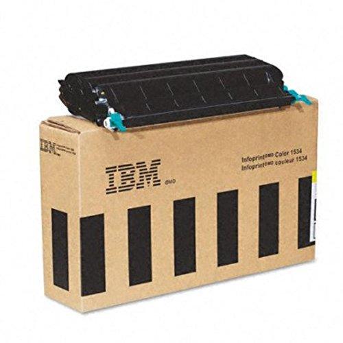 InfoPrint 39V0313 tóner y Cartucho láser - Tóner para impresoras láser (Cartucho, Amarillo, Laser, IBM InfoPrint Color 1534/1634, Negro, 5-35 °C)