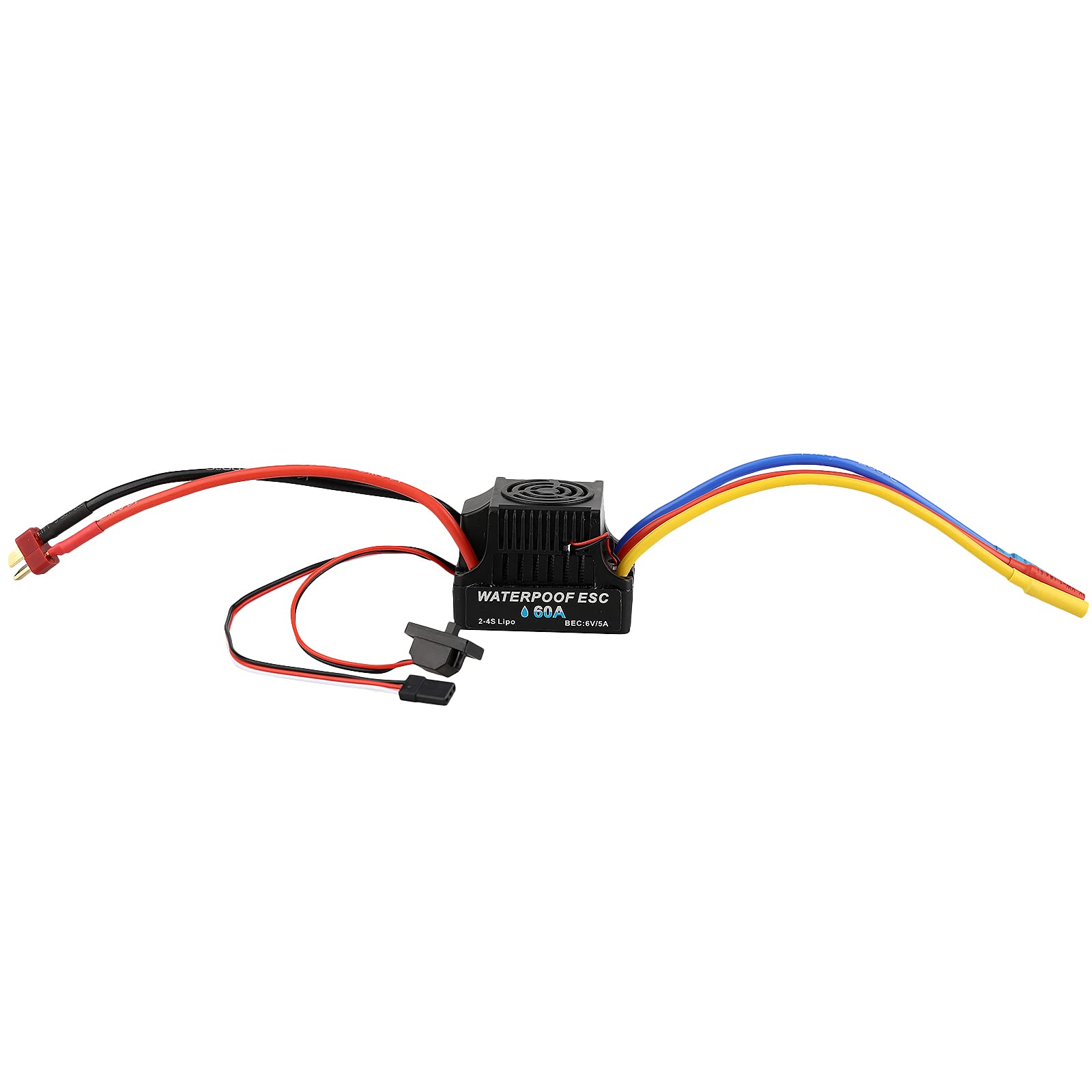 Shaluoman 60A Brushless ESC Electronic Speed Controller LONG