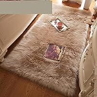 大きなリビングルームの敷物-長いパイルの敷物リビングルームの寝室洗えるダイニングルームモダンな保育園-A_50X80CM