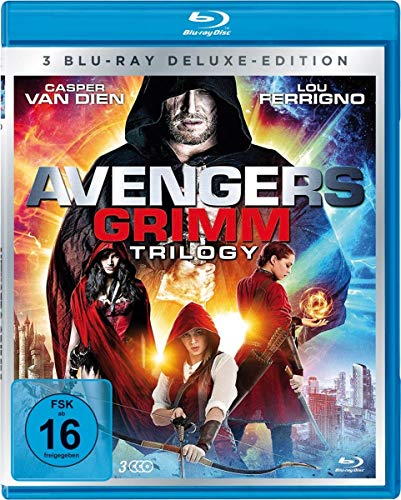 Avengers Grimm 1-3 Trilogy-Box-Edition [Blu-ray]