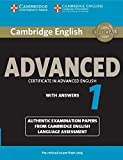 Cambridge English Advanced 1 for Revised Exam from 2015 Student's Book with Answers: Authentic Examination Papers from Cambridge English Language Assessment: Vol. 1 (CAE Practice Tests)