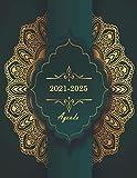 Agenda 2021-2025: Agenda Mensual de 60 Meses, Agenda de Bolsillo 2021/2025, Calendario de cinco años, Organizador de lista de tareas pendientes, Administrador de contraseñas...160 Páginas
