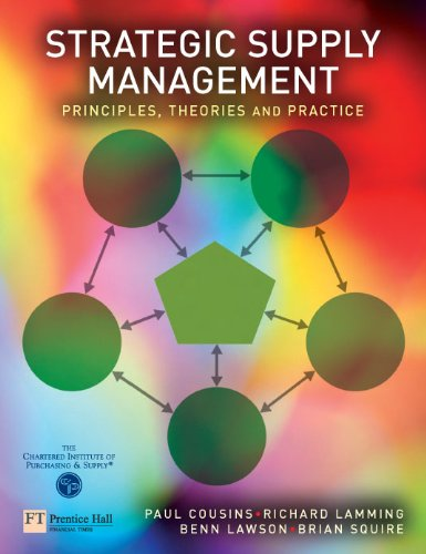 Strategic Supply Management: Principles, theories and practice (English Edition)