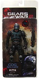 "Gears of War Series 5 - COG Soldier v.2 7"" action figure"