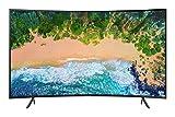 """Samsung UE55NU7370UXZT UHD 4K Smart TV 55"""" (139.7 cm) Serie NU7370 2018 (Serie NU7300), Tecnologia LED, Nero"""