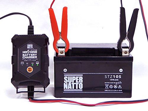 南進貿易『星乃充電器(6V/12V切替式)(BC-HOSHINO)』