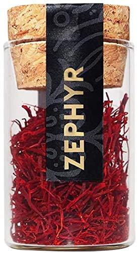 Zephyr zafferano in pistilli interi, confezione da 1 grammo