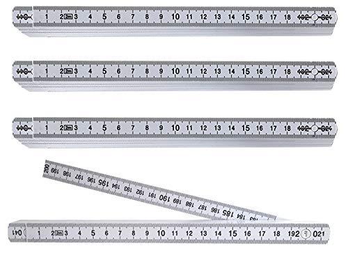 Zollstock Maßstab 2m Meterstab Wiha Elektriker-Gliedermaßstab Longlife