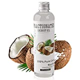 Fractionated Coconut Oil Massage Oil - Cold Pressed Pure MCT Oil for Essential