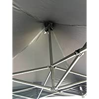 All Seasons Gazebos , Heavy Duty, Full Waterproof, PVC Coated Premium Pop Up Instant 2x2m Gazebo With Carry Bag 6