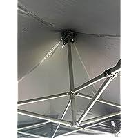 All Seasons Gazebos , Heavy Duty, Full Waterproof, PVC Coated Premium Pop Up Instant 2x2m Gazebo With Carry Bag 4