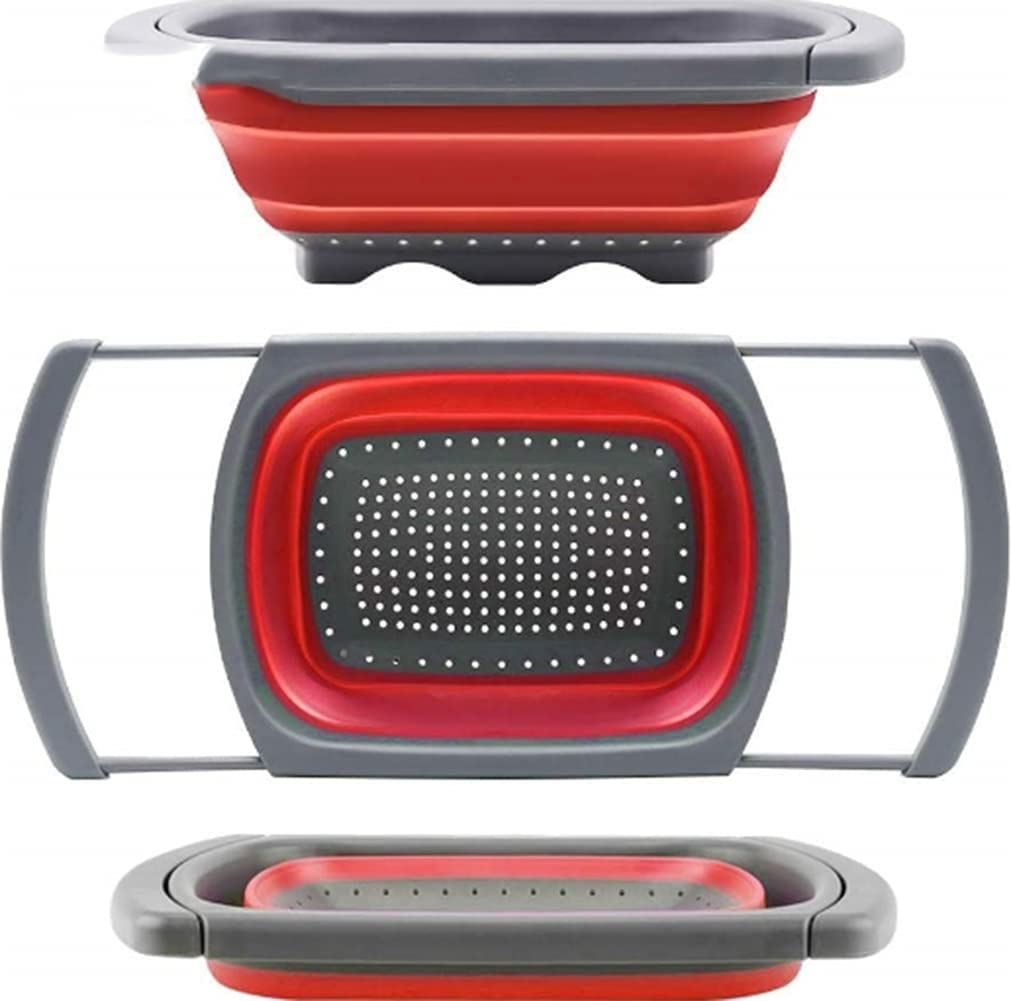 Luxury goods Xinyexinwang SiliconeColander Collapsible Colander 67% OFF of fixed price Strainer Ove