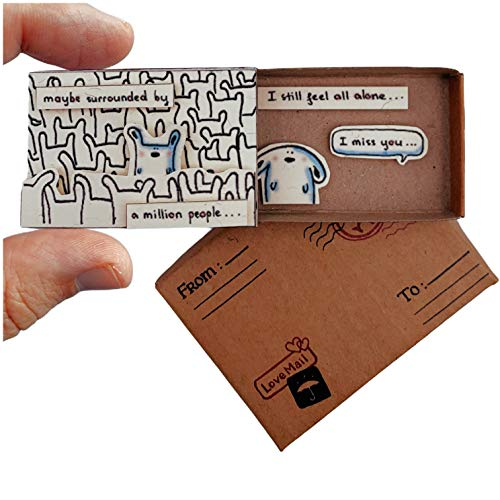 immi Mini Überraschung, kleines Geschenk in der Box (Anlass/Vermisse Dich)
