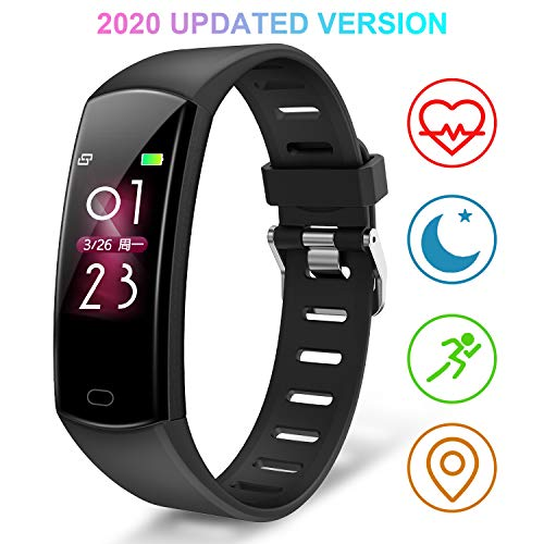 BingoFit Fitness Tracker HR,Kids Activity Tracker Watch with Heart Rate Monitor,Waterproof Smart Fitness Band with Step Counter,Calorie Counter,Pedometer for Women and Men