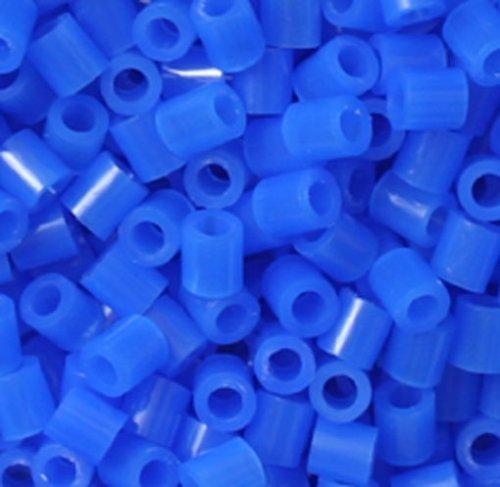 Perler Beads 1,000 Count-Neon Blue