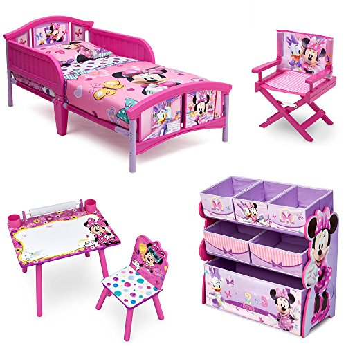 New Minnie Mouse Room-in-a-Box with Bonus Chair