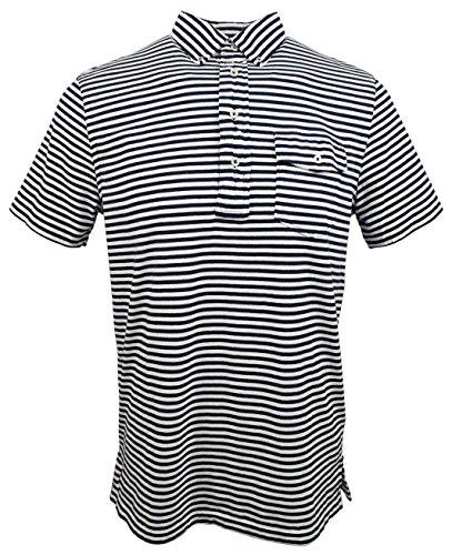 Polo Ralph Lauren Mens Striped Casual Polo Shirt