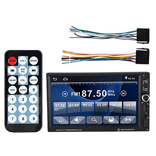 7 inch autoradio Multimedia, In-Dash touchscreen Autoradio, Auto MP5 Radio HD-speler, Bluetooth Handsfree bellen, Car Audio Video Player Ondersteuning FM USB/TF/AUX