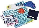 Chicos- Bingo Electrnico Lotera Parlante con 48 cartones, 13 x 7.5 x 4 cm, incluye fichas de juego, Multicolor (Fbrica de Juguetes 22409) , color/modelo surtido