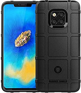 Huawei Mate 20 Pro Shockproof Protective TPU Phone Case Cover - Black