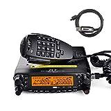 TYT TH-7800 VHF UHF Dual Band Mobile Transceiver 50 Watt Vehicle Car Radios Programming Cable