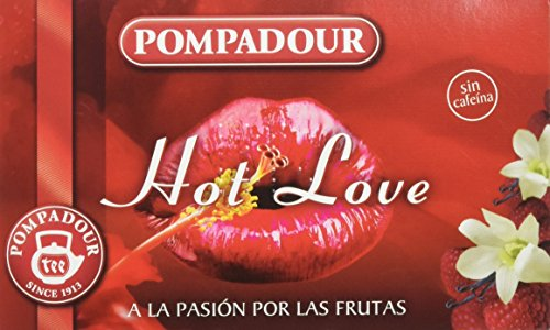 Pompadour Te Infusion Hot Love - 20 bolsitas