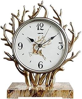 Kejing صامتة الزخرفية الزخرفية ساعة الأزياء ساعة شجرة النمذجة الأزياء الميكانيكية كتم ساعة أورد ديكو نوم سهلة القراءة للمن...