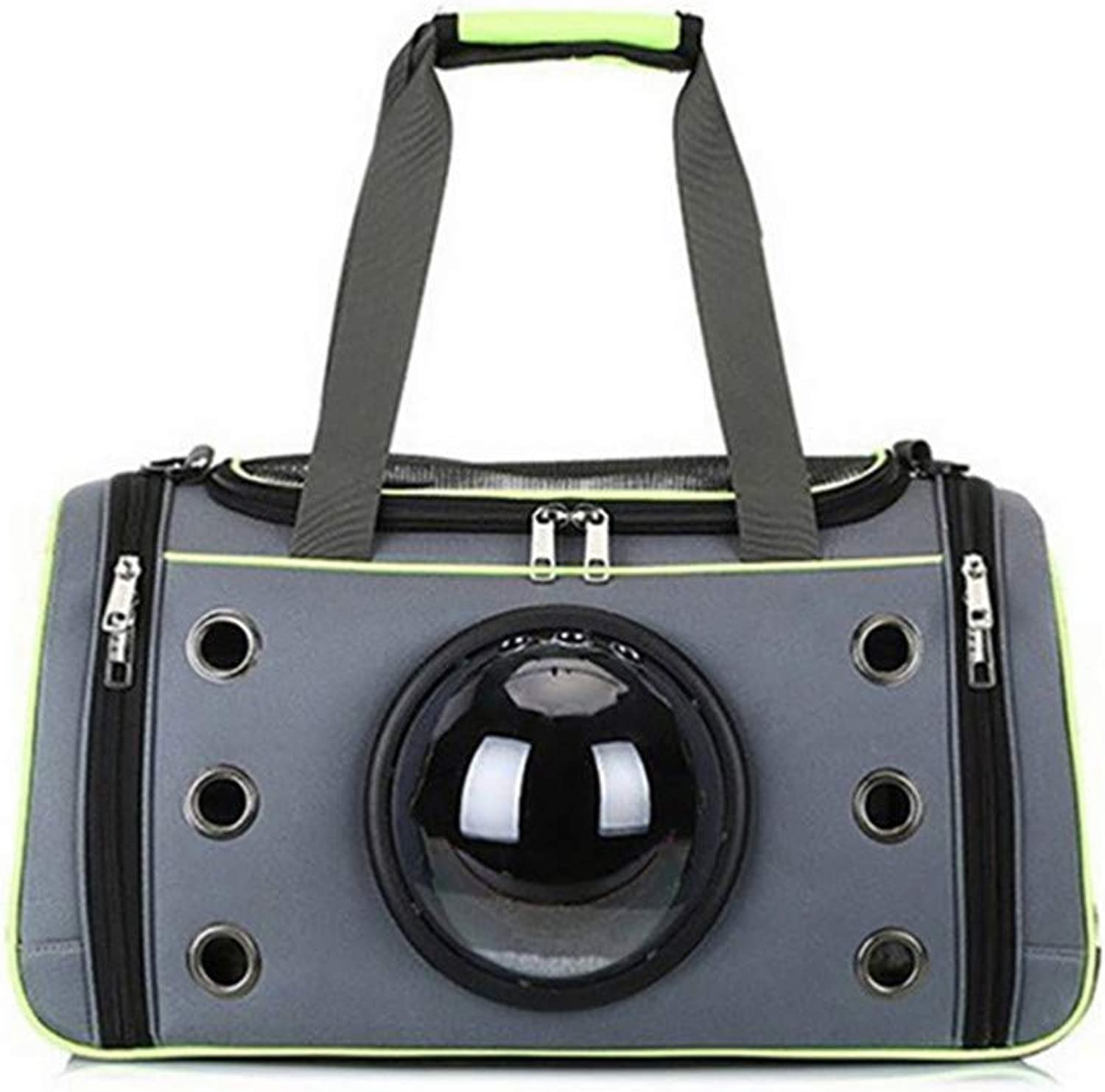 Travel Pet Carrying Case Bag Comfortable Space Capsule Portable Cat Handbag Breathable Out Bag Strap Carrier 01 S