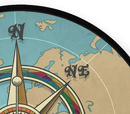 Round compass rug _image3