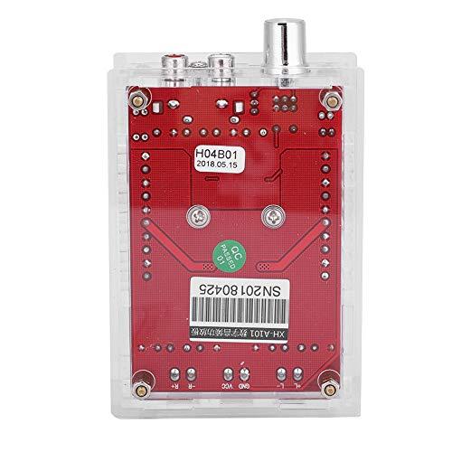TDA7498 2 x 100W digitale audioverversterker, Amplifier Board module met behuizing en ventilator, stereo subwoofer vermogen versterker plank audio ampp voor 4-8 Ohm luidsprekerimpedantie