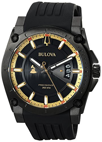 Bulova Men's Grammy Watch Stainless Steel Analog-Quartz...