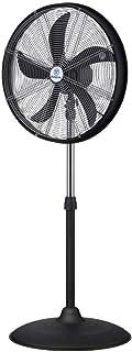 Westinghouse Lighting Yucon Ventilador de pie con 5 palas, 50 cm de diámetro, 120 W, Metal, 3 Velocidades, Negro