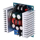 Regulador de voltaje, módulo de fuente de alimentación de entrada 6-40VDC, alta eficiencia 300W 20A para generadores eólicos de paneles solares