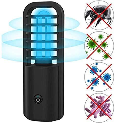 Ultraviolet Disinfection Lamp La Lampe de stérilisation UV Portable Rechargeable Tue jusqu'à 99,9% des germes et Virus de bactéries de moisissure for la Zone des Animaux de Compagnie de l'h?tel