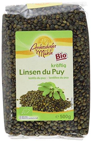 Antersdorfer Mühle Linsen Du Puy, 6er Pack (6 x 500 g)